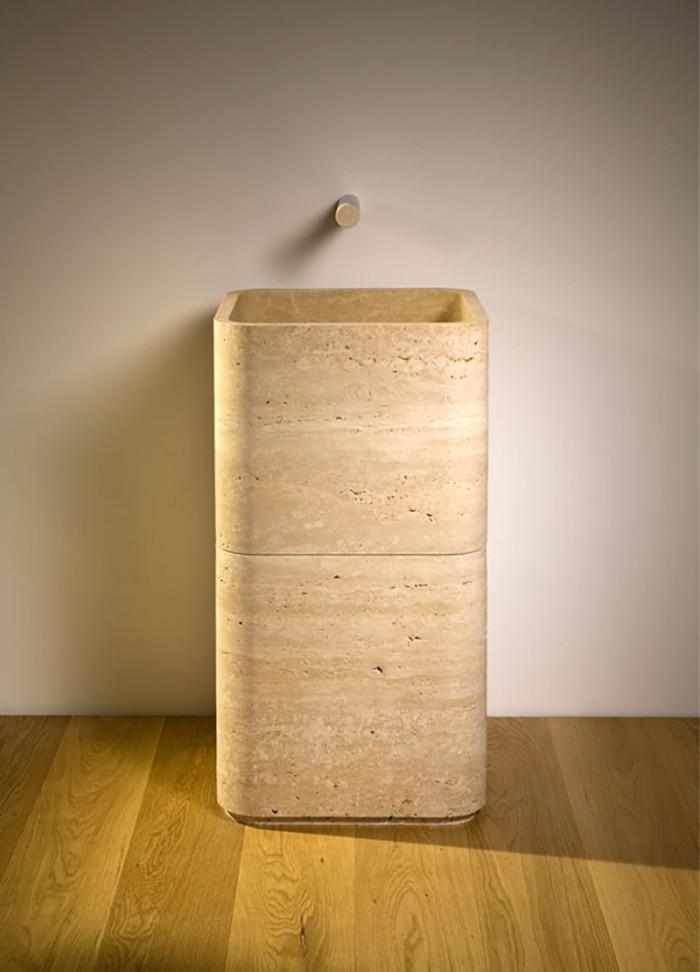 stone wash basin - lavabo in pietra | Petra 85 | Vaselli