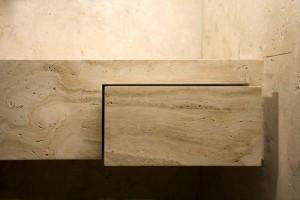 Natural stone bathrooms - Bagni in pietra naturale | Montalcino | Vaselli