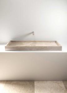 stone wash basin - lavabo in pietra   Pientia 1210   Vaselli