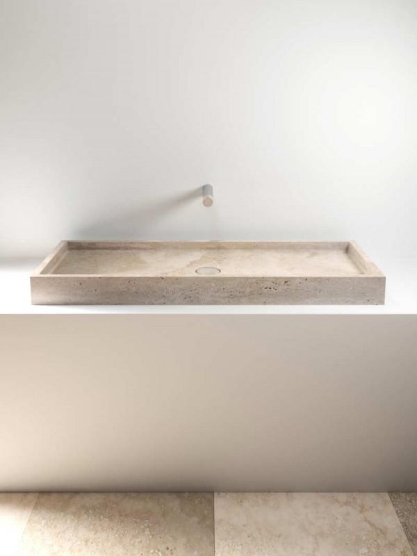 stone wash basin - lavabo in pietra | Pientia 1210 | Vaselli