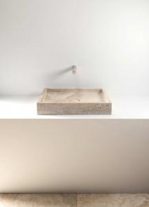 stone wash basin - lavabo in pietra | Pientia 610 | Vaselli