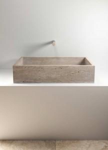 stone wash basin - lavabo in pietra | Pientia 920 | Vaselli