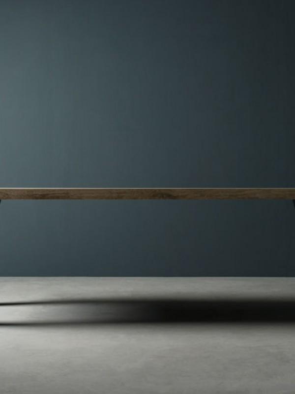 iron and stone table - tavolo in pietra e ferro | T. SIDER | Vaselli