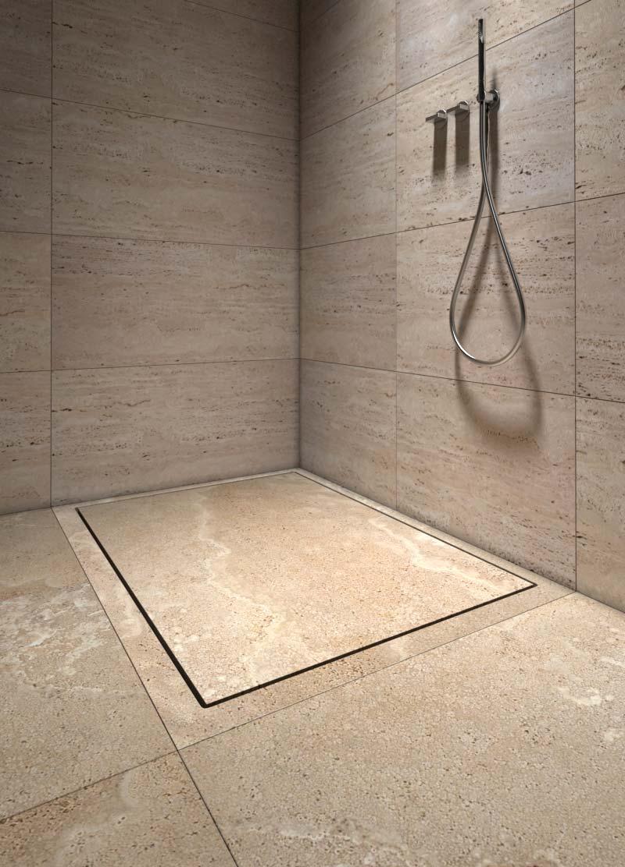 piatto doccia in pietra - stone shower tray Mons 120 | Vaselli