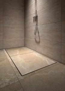 stone shower tray - piatto doccia in pietra   Mons 180   Vaselli