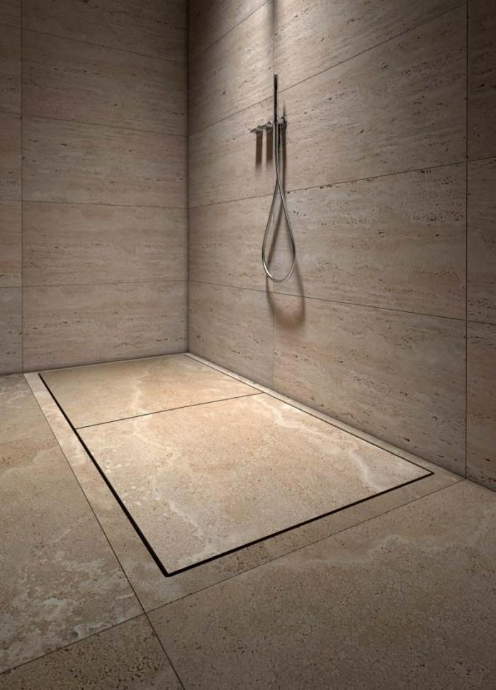 stone shower tray - piatto doccia in pietra | Mons 180 | Vaselli