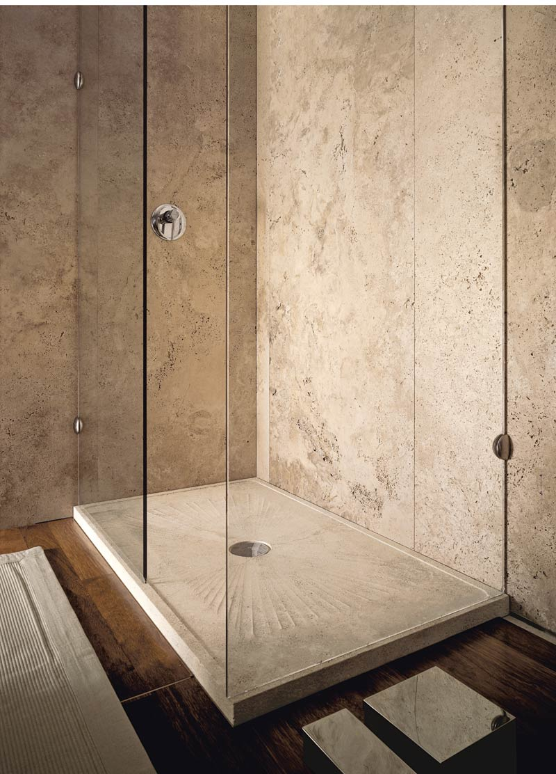 SAND 140 shower tray | Stone shower trays | Vaselli