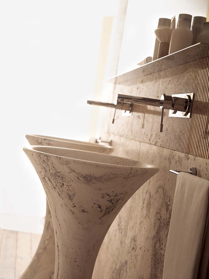 Slim 47 | lavabo a colonna - free-standing wash basin | Vaselli