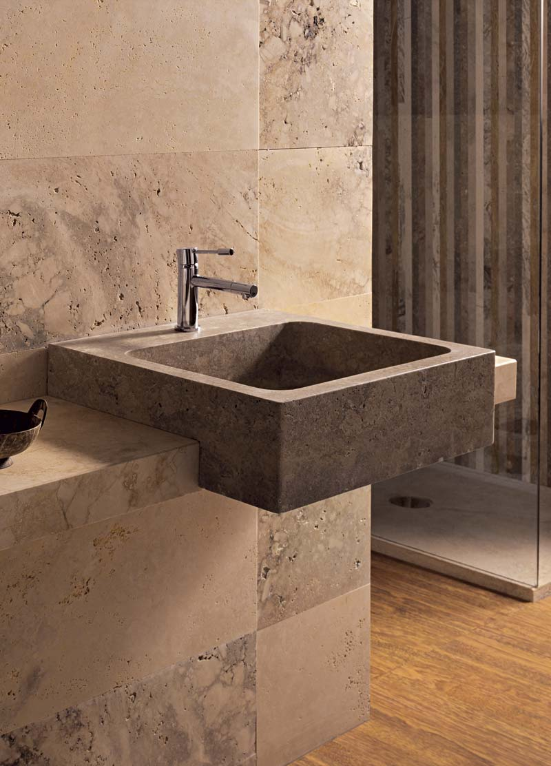Square 50 | Lavabo a semi incasso - Semi-recesed wash basin | Vaselli