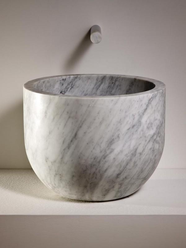 Natural stone basin -Lavabo in pietra | Ciotola | Vaselli