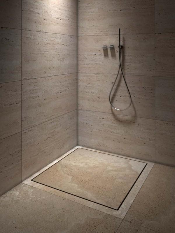 stone shower tray - piatto doccia in pietra | Vaselli