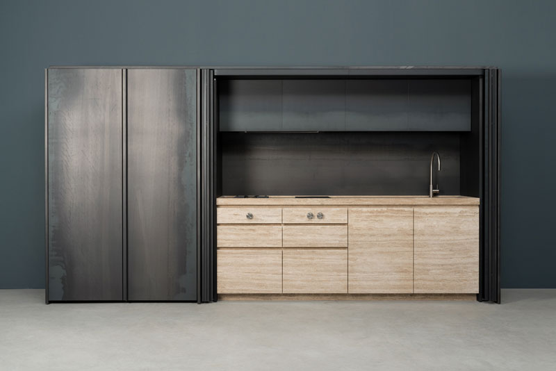 Hidden kitchen - Cucina a Scomparsa | Sider | Vaselli
