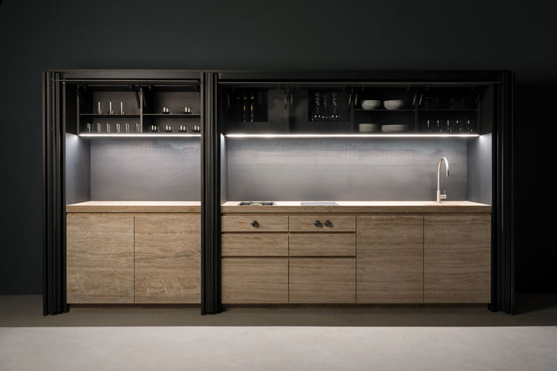 ... Hidden Kitchen   Cucina A Scomparsa | Sider | Vaselli ...