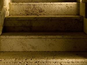 travertine stair