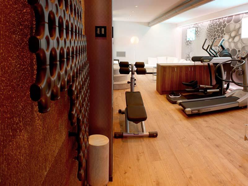 private wellness area