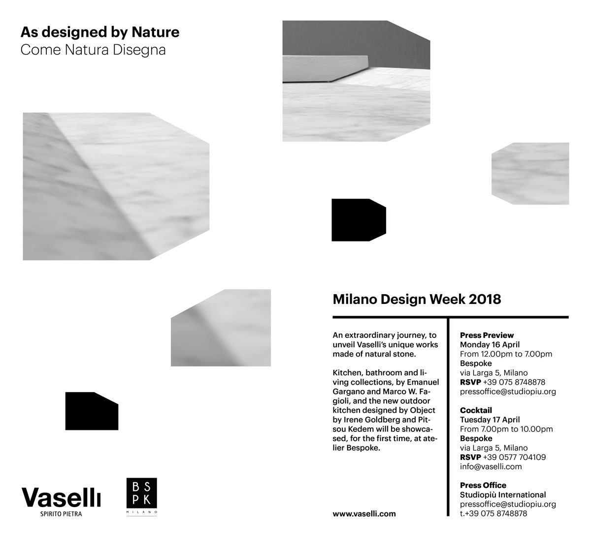 Milan Design Week - Vaselli events