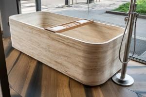 Balnea | stone bathtub - vasca in pietra | Vaselli | Fuorisalone 2018