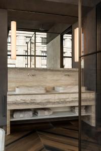 Le Cave | stone bathroom vanity - mobile bagno in pietra| Vaselli | Fuorisalone 2018