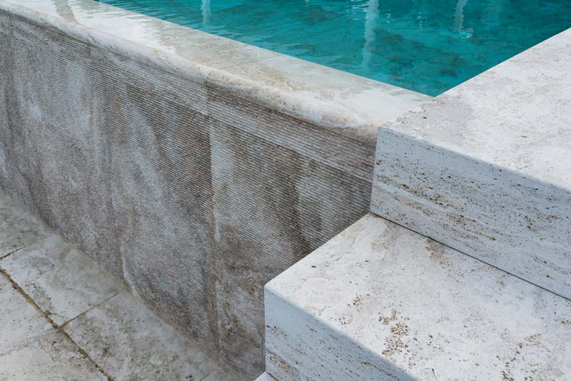 natural stone pool - piscina in pietra naturale   San Casciano   Vaselli