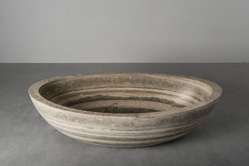 oval bathtub - vasca ovale Ship | stone bathtub - vasca da bagno in pietra | Vaselli