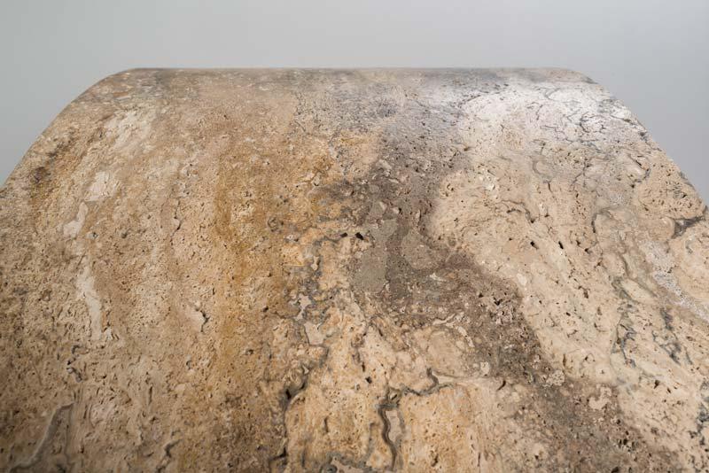 vasca tonda - round bathtub | vasca da bagno in pietra - stone bathtub | Balnea 360 | Vaselli