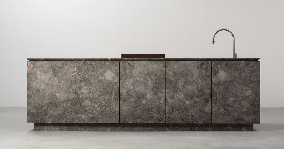 Vaselli stone kitchen at Intervari - London