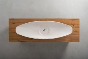 Terrra   linea mobili bagno - bathroom vanities line   legno e ferro - wood and iron   Vaselli