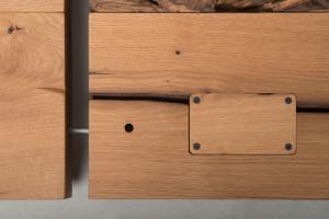 Terrra | linea mobili bagno - bathroom vanities line | legno e ferro - wood and iron | Vaselli
