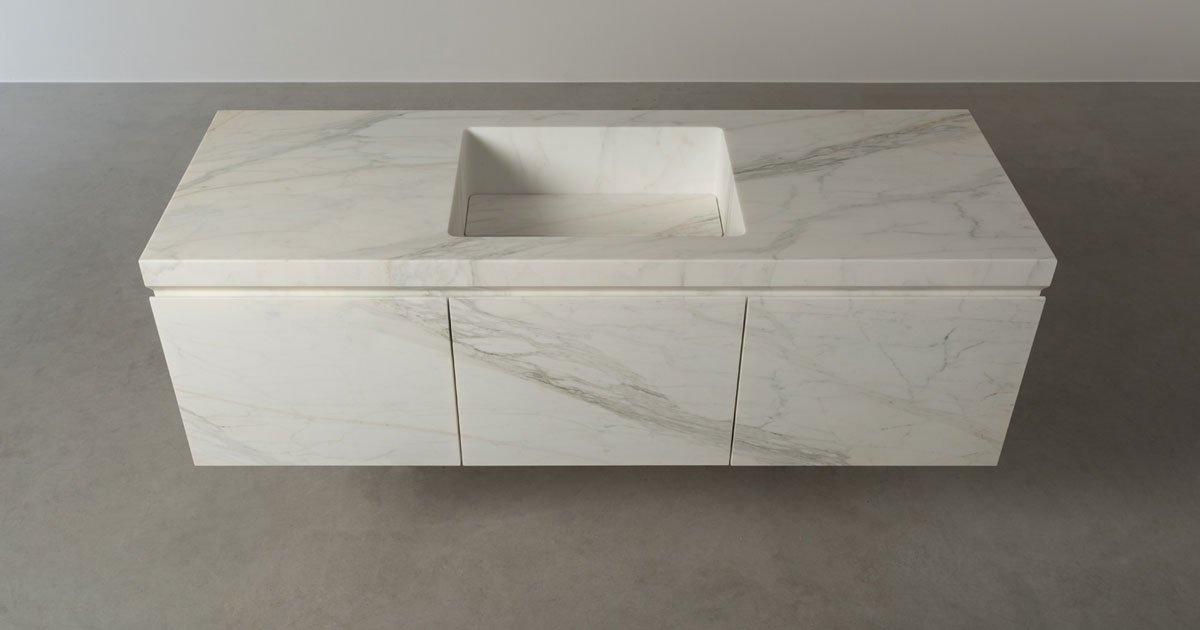 Le Cave bathroom unit - mobile bagno | Elementi San Francsico | Vaselli