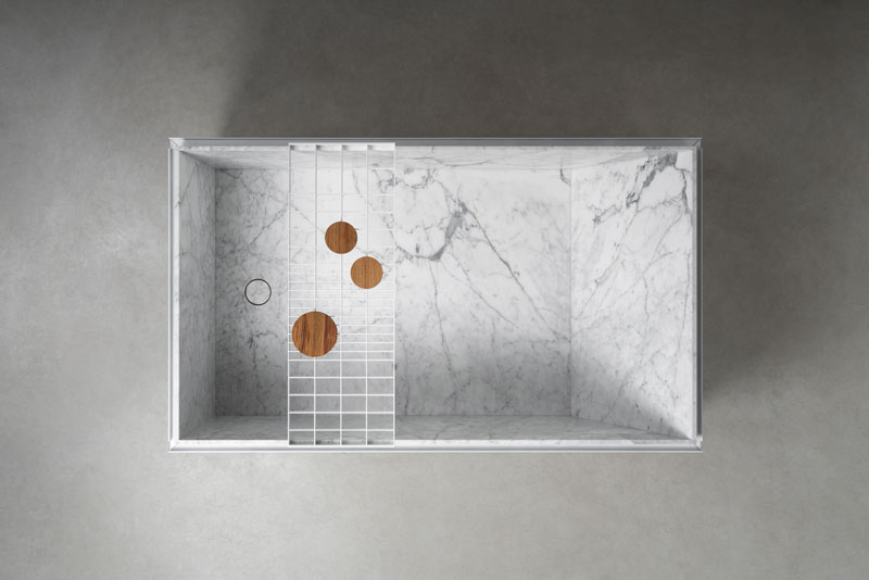 H2O | stone and metal bathtub - vasca in pietra e metallo| Vaselli