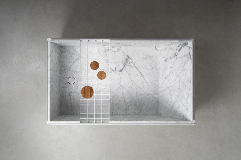 H2O | stone and metal bathtub - vasca in pietra e metallo| Vaselli