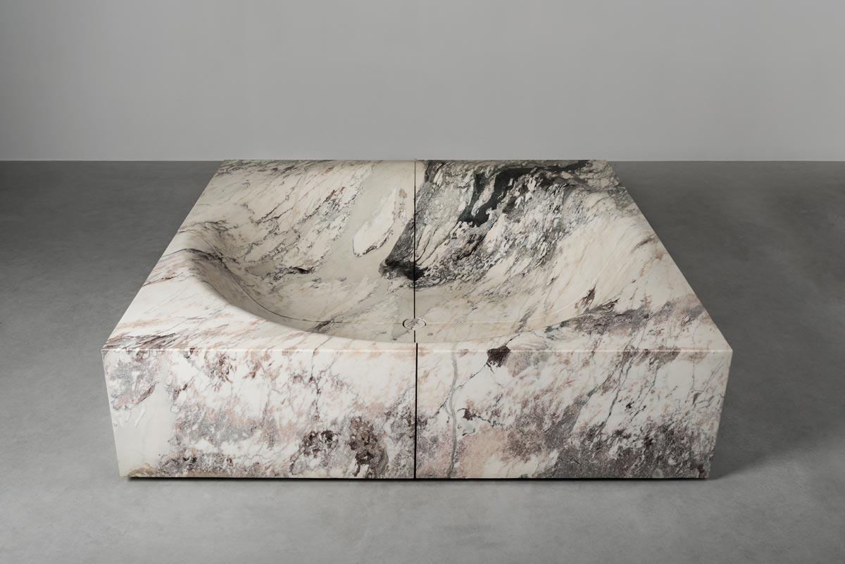 Vasca quadrata - square bathtub | Pozze | Vaselli